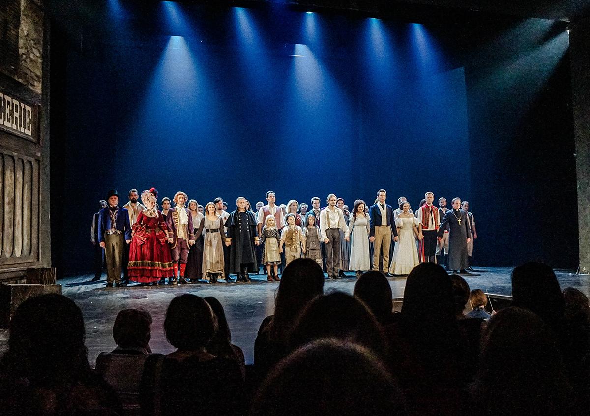 """Obsada musicalu """"Les Misérables"""" w Teatrze Muzycznym w Łodzi z dnia 03.11.2018 r."""