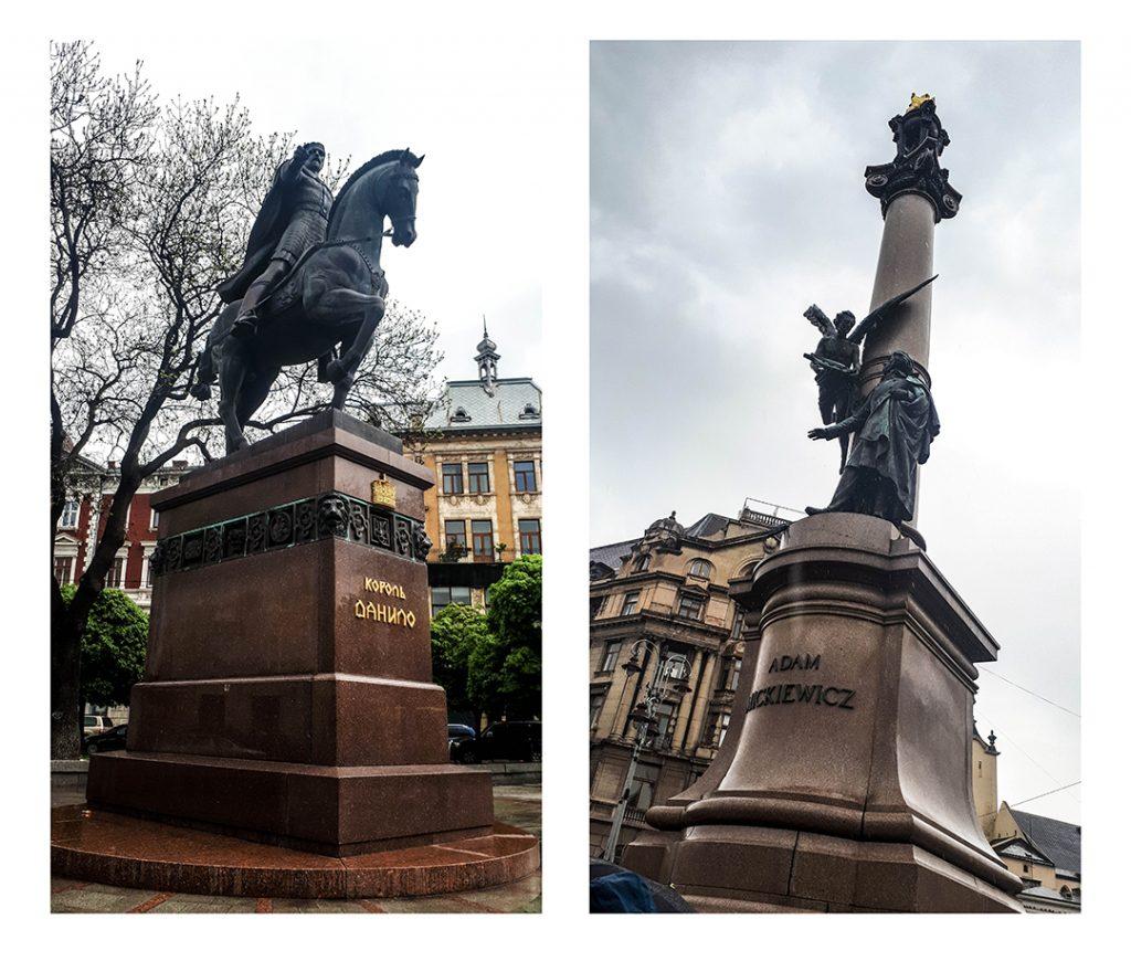 Pomnik Daniela Halickiego | pomnik Adama Mickiewicza