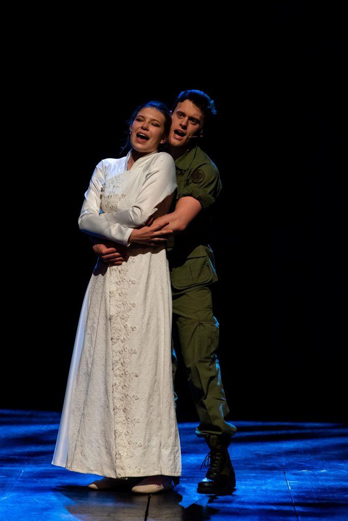 Joanna Gorzała iMaciej Pawlak | Miss Saigon wTeatrze Muzycznym wŁodzi | fot.Michał Matuszak