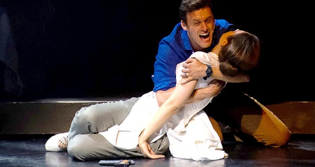 Sylwia Banasik i Maciej Pawlak | Miss Saigon w Teatrze Muzycznym w Łodzi | fot. Michał Matuszak